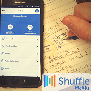 Shuffle Virtual Business Cards